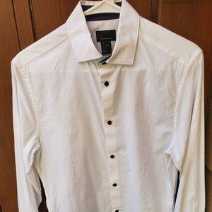 Long sleeve button up dress shirt